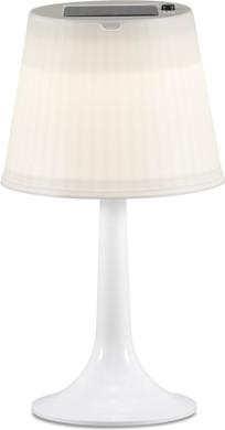 Konstsmide Assisi LED Solar Tafellamp Wit