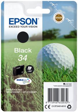 Epson 34 Zwart (C13T34614010)