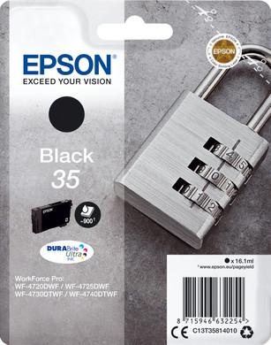 Epson 35 Zwart (C13T35814010)