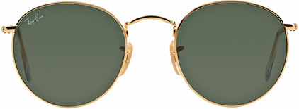 Ray-Ban Round RB3447 Arista / Crystal Green