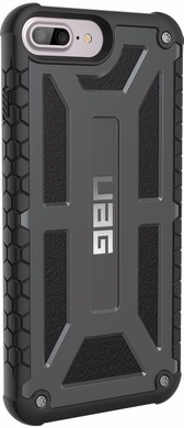 UAG Monarch Apple iPhone 6 Plus/6s Plus/7 Plus/8 Plus Back cover Grijs