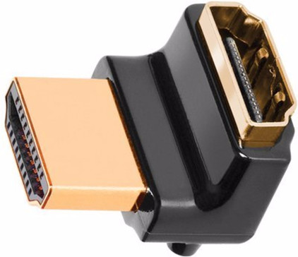 AudioQuest HDMI koppelstuk 90 /W