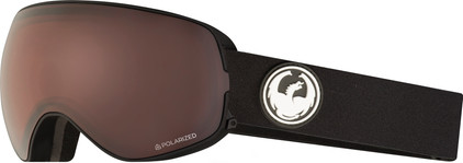 Dragon X2S Black + Luma Polarized Lens