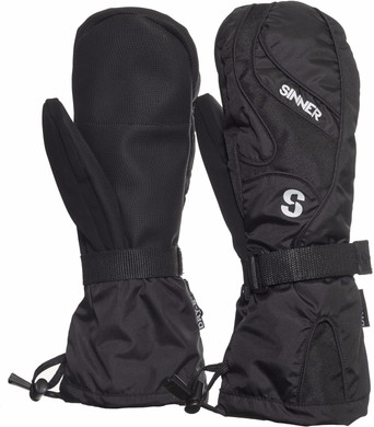 Sinner Everest Mitten Dry-S Men Size S Black