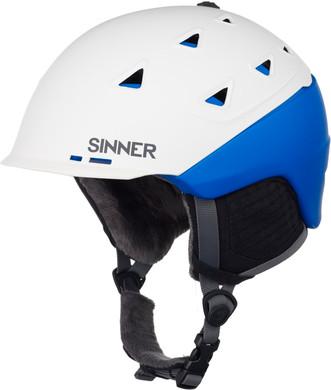 Sinner Stoneham Matte White/Blue (55 - 56 cm)