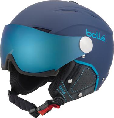 Bollé Backline Visor Soft Navy + Grey Blue & Lemon Vizier (54-56 cm)