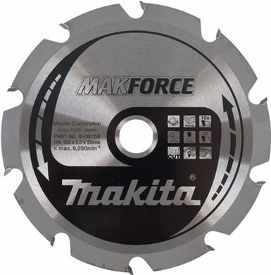 Makita Zaagblad HM hout 165x20x2.2mm 28T  B-07434
