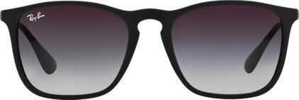 Ray-Ban Chris RB4187 Rubber Black / Light Grey Gradient