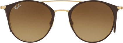 Ray-Ban RB3546 Gold Top Brown / Brown Gradient Lens