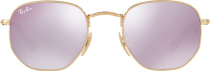 Ray-Ban Hexagonal RB3548N Gold / Wisteria Flash