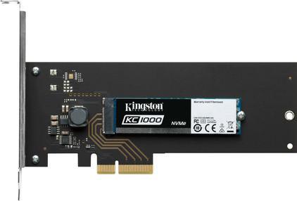 Kingston KC1000 NVMe 960GB PCIe