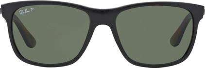 Ray-Ban RB4181 Shiny Black / Polarized Green