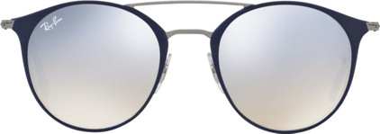 Ray-Ban RB3546 Gun Top Blue / Grey Flash Gradient Lens