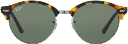 Ray-Ban Clubround RB4246 Spotted Black Green