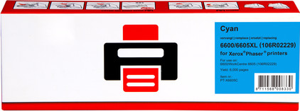 Huismerk 6600/6605XL Cyaan voor Xerox printers (106R02229)