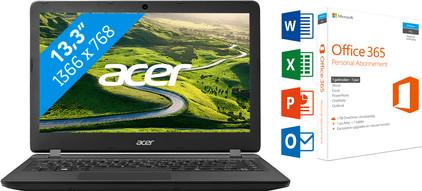 ACER ASPIRE ES1-332-C53V + Office 365 1 jaar