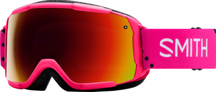Smith Grom Junior Pink Monaco + Red Sol X Lens