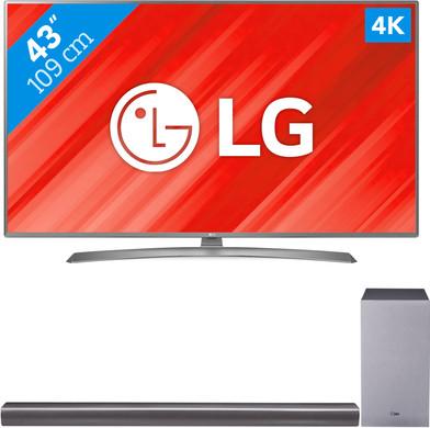 LG 43UJ670V + LG SJ6