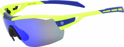 AGU Foss Shield Fluo Geel / Flash Blue, Orange & Clear