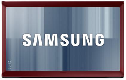 Samsung UE24LS001B Serif Rood