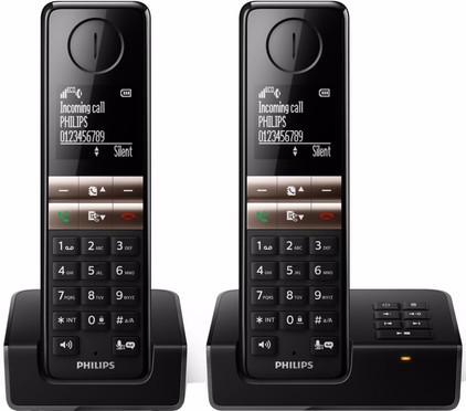 Philips D4652B/01 Zwart