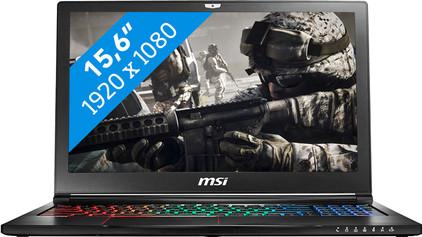 MSI GS63 7RD-076NL