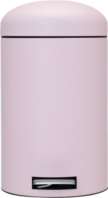 Brabantia Retro Bin 12 Liter Roze