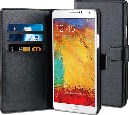 BeHello Wallet Case Samsung Galaxy Note 4 Zwart