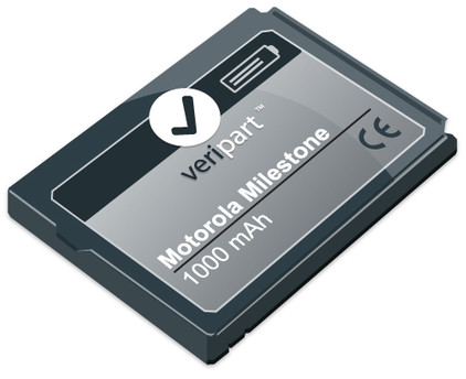 Veripart Battery Motorola Milestone 1000 mAh + Thuislader