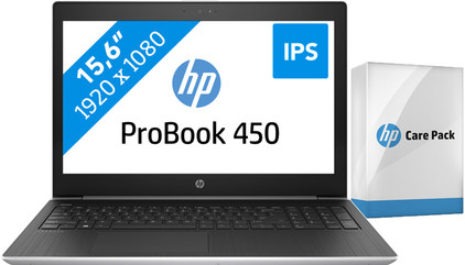 HP ProBook 450 G5 i5-8gb-256ssd + Care Pack