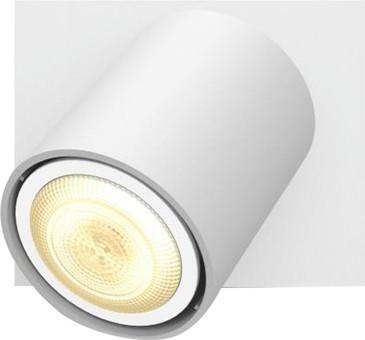 Philips Hue Runner Mounted Spot White Ambiance 1 Light White Bluetooth