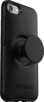 Otterbox Otter + Pop Symmetry Apple iPhone SE 2/8/7/6s/6 Back Cover Black
