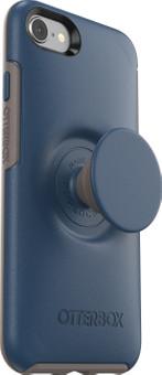 Otterbox Otter + Pop Symmetry Apple iPhone SE 2/8/7/6s/6 Back Cover Blue