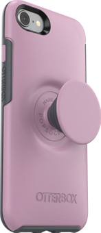 Otterbox Otter + Pop Symmetry Apple iPhone SE 2/8/7/6s/6 Back Cover Pink