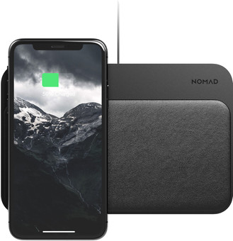 Nomad Base Station Wireless Charger and 2-port Usb Hub with Power Delivery Aluminum