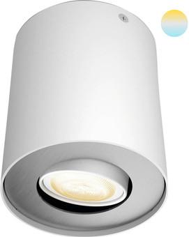 Philips Hue Pillar Mounted Spot White Ambiance 1 Light White