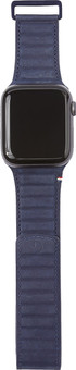 Decoded Apple Watch 38/40mm Leather Strap Blue