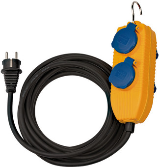 Brennenstuhl Construction Site Extension Cord IP54 10m