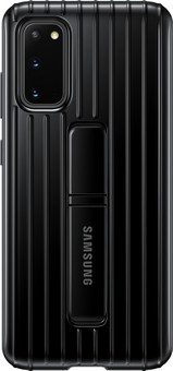 Samsung Galaxy S20 Protective Standing Back Cover Black