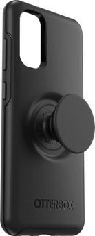 OtterBox Otter + Pop Symmetry Samsung Galaxy S20 Back Cover Black