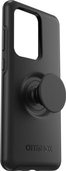 OtterBox Otter + Pop Symmetry Samsung Galaxy S20 Ultra Back Cover Black