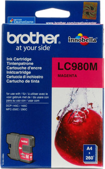 Brother LC-980 Cartridge Magenta