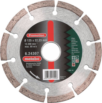 Metabo Grinding disc Diamond 125 mm
