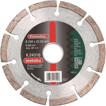 Metabo Grinding Disc Diamond 230mm