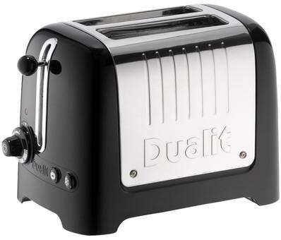 Dualit Lite Gloss 2-lock Black