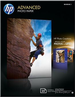 HP Advanced Glossy Photo Paper 25 sheets (13 x 18)