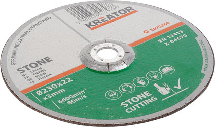 Kreator Grinding wheel Stone 230 mm 6 pieces