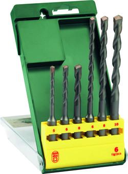 Bosch Set SDS-plus S6 Concrete Drill Bits 6-piece