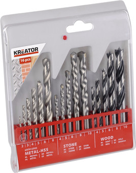 Kreator Borenset Metal / Stone / Wood 16-piece