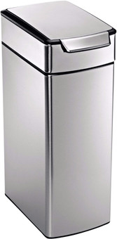 Simplehuman Rectangular Slim Touch Bar 40 Liters